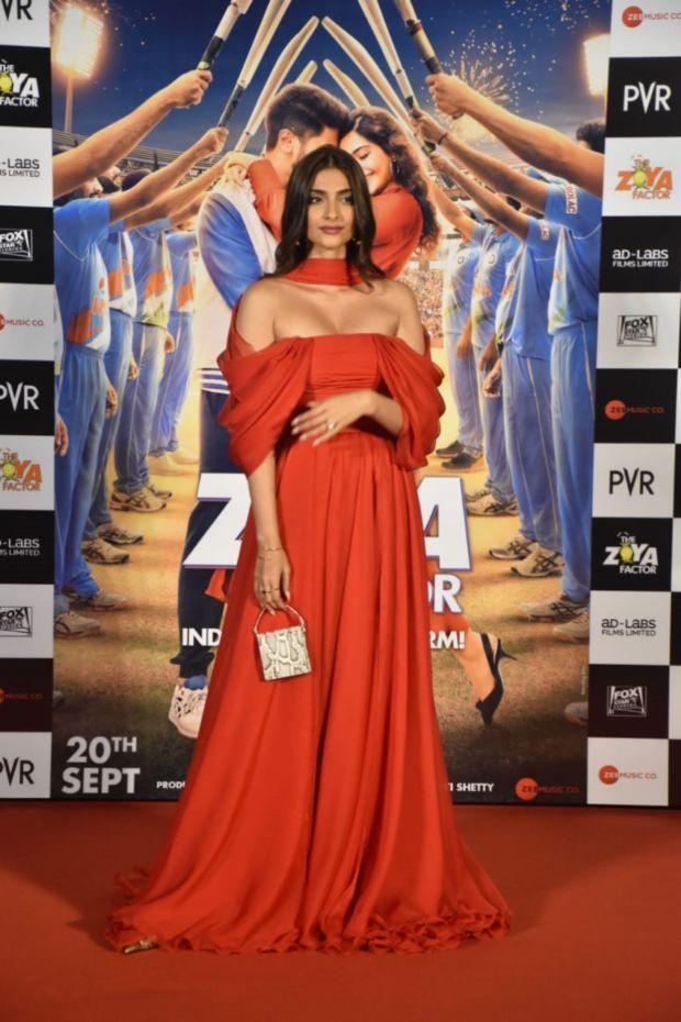 Sonam Kapoor And Dulquer Salmaan At Zoya Factor Trailer Launch