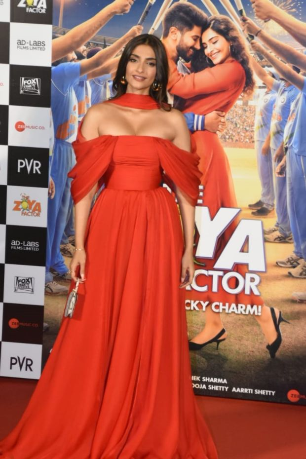 Sonam Kapoor And Dulquer Salmaan At Zoya Factor Trailer Launch