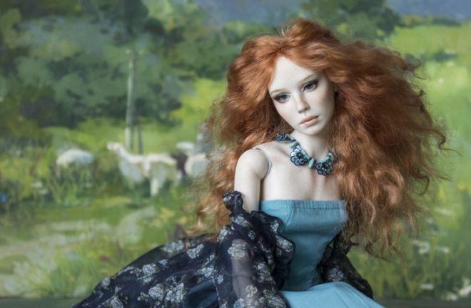 An Artist Couple Crafts Realistic Porcelain Dolls