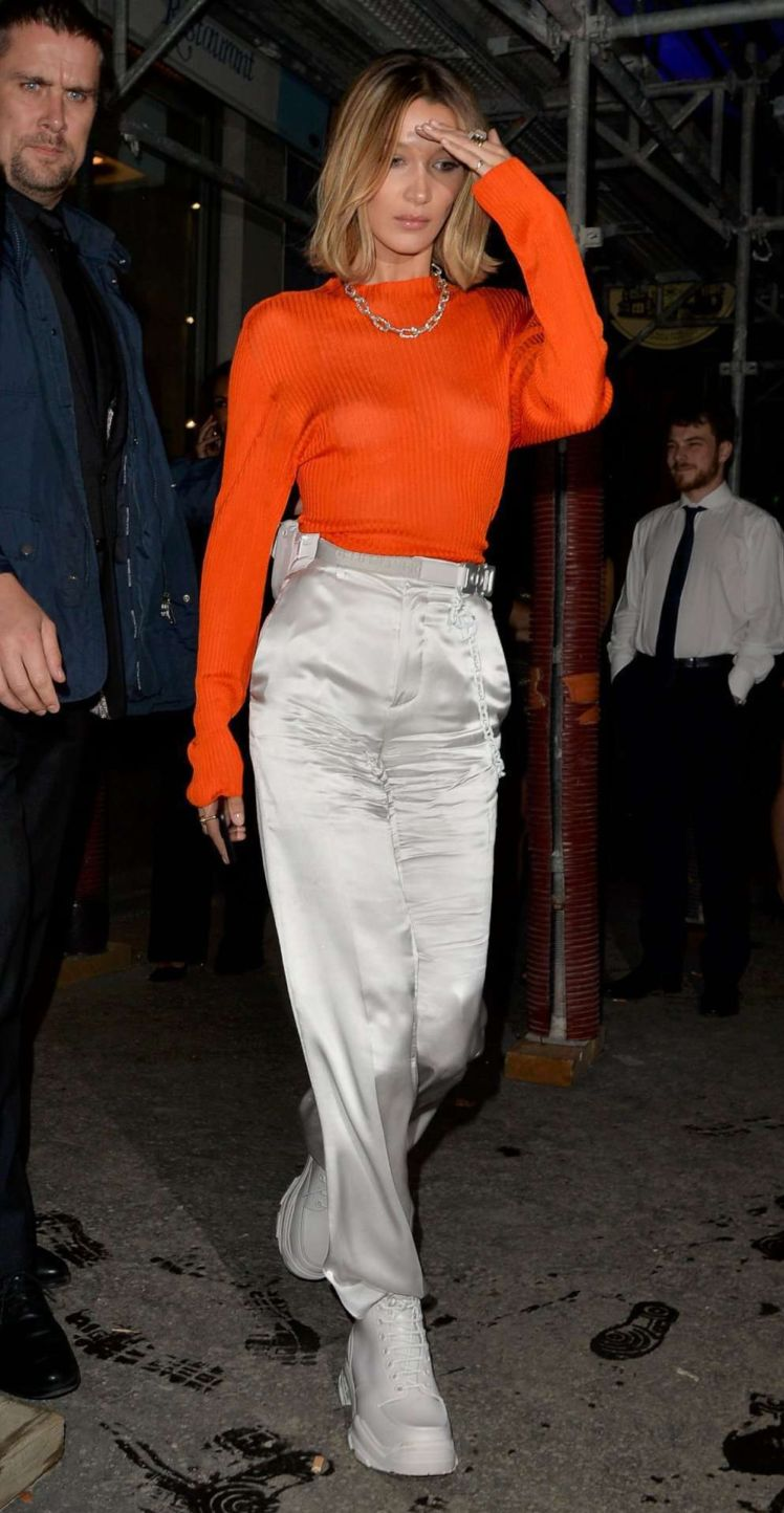 Bella Hadid Spotted Out For A Night Out In Paris