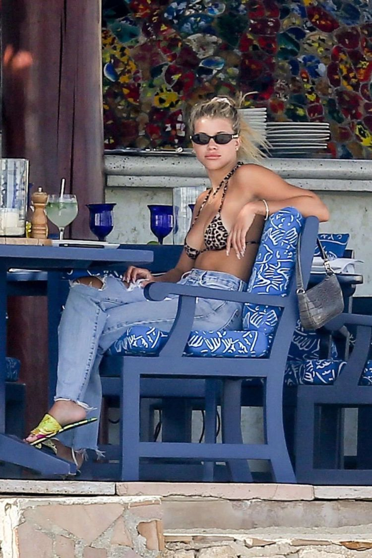 Sofia Richie Candids In Cabo San Lucas