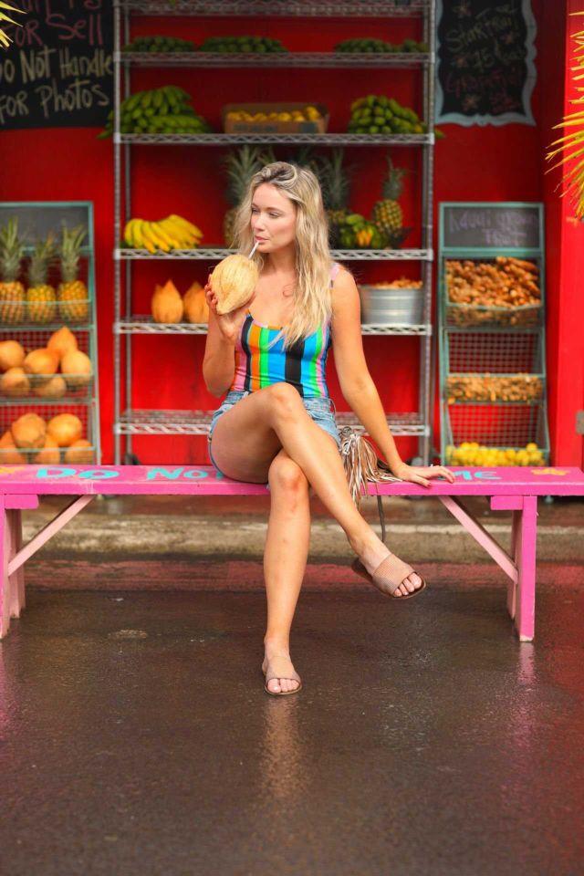 Katrina Bowden For 'Oahu + Kauai Travel Guide' Campaign Photoshoot