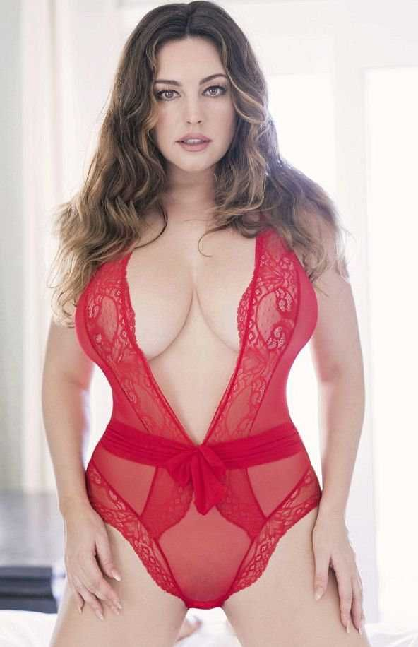 Kelly Brook Exclusive Photoshoot For Valentine's Day 2018