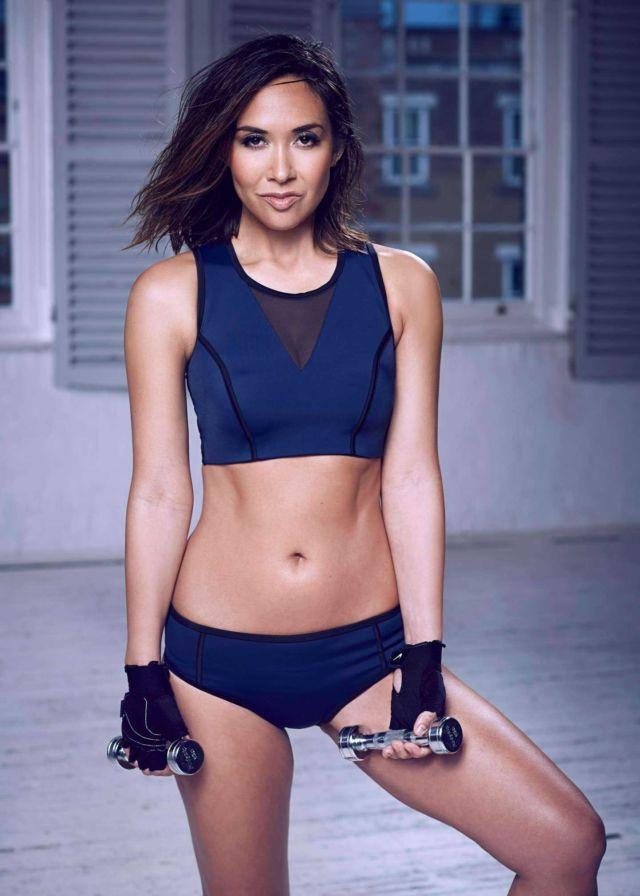 Myleene Klass Fitness Photoshoot For MyBody