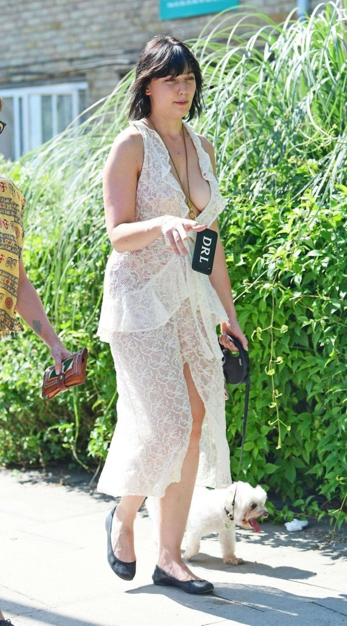 Daisy Lowe Out And About Candids In London
