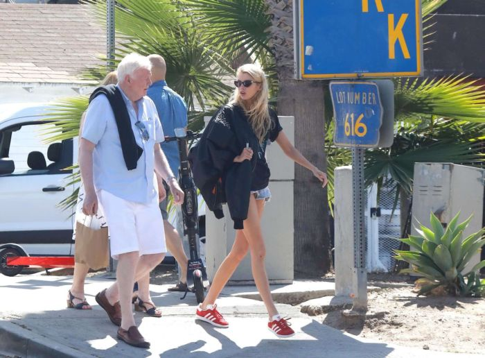 Stella Maxwell Candids Out In Venice Beach